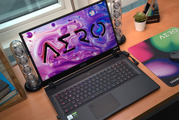 AERO Creator Laptop Windows Hello and RGB Keyboard